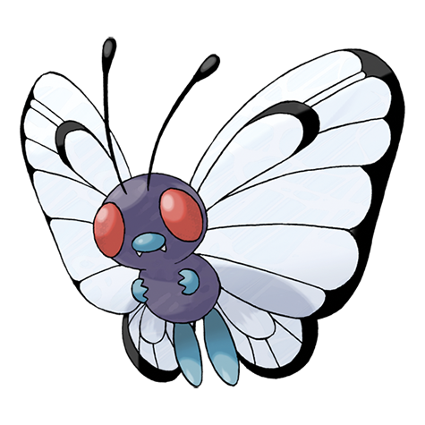 Butterfree card