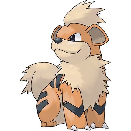 Growlithe card