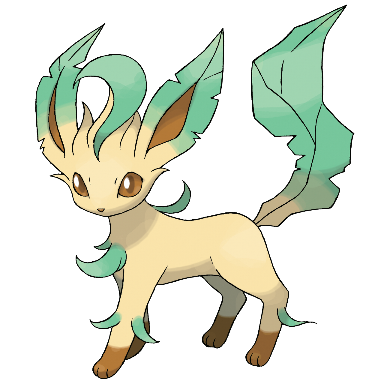 Leafeon card