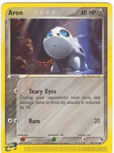 Aron card for EX Ruby & Sapphire