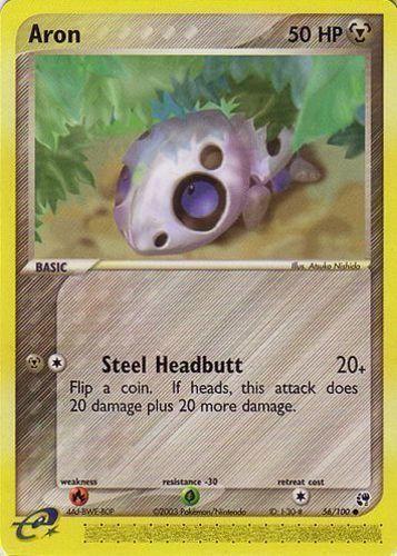 Aron card for EX Sandstorm