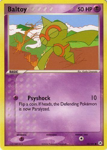 Baltoy card for EX Hidden Legends