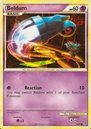 Beldum card for Unleashed