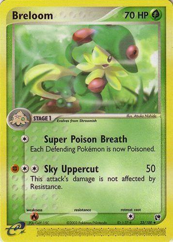 Breloom card for EX Sandstorm