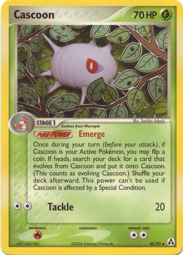 Cascoon card for EX Legend Maker