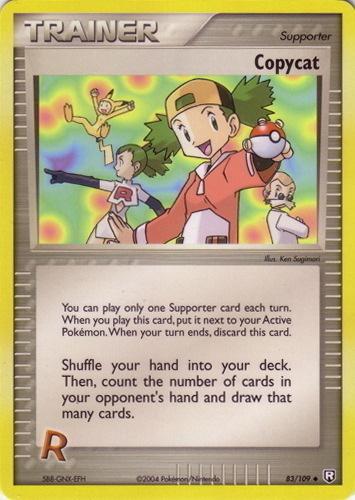 Copycat card for EX Dragon Frontiers