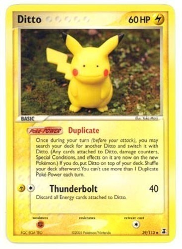 Ditto card for EX Delta Species