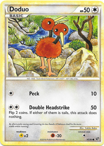 Doduo card for Undaunted