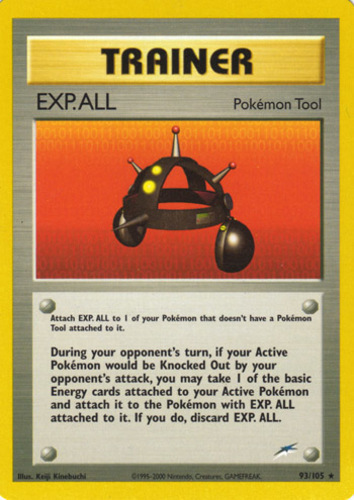 EXP.ALL card for EX FireRed & LeafGreen