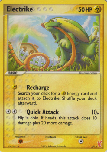 Electrike card for EX Deoxys