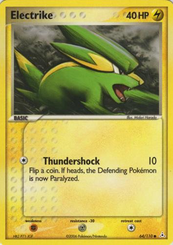 Electrike card for EX Holon Phantoms