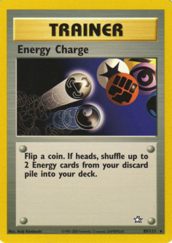 Energy Charge card for EX Deoxys