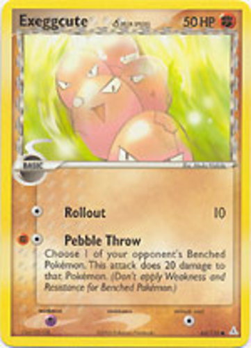 Exeggcute card for EX Holon Phantoms