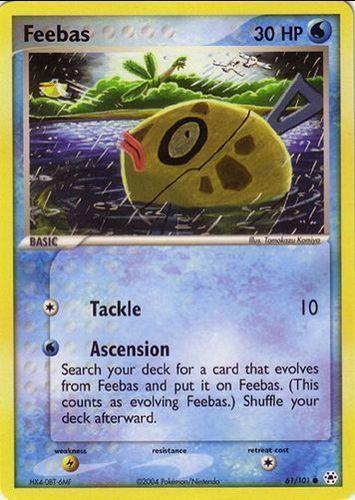 Feebas card for EX Hidden Legends