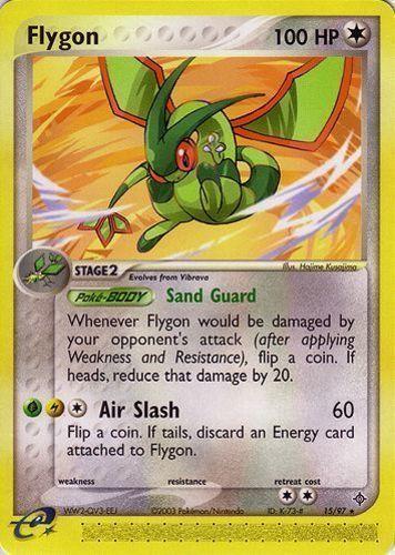 Flygon card for EX Dragon