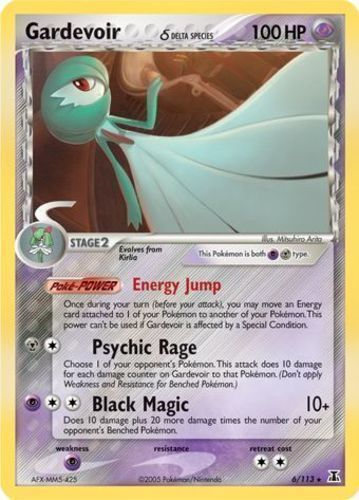 Gardevoir card for EX Delta Species