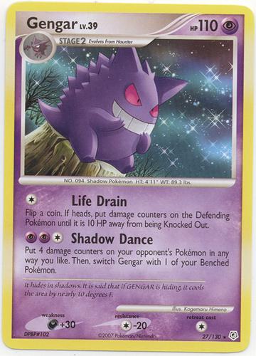 Gengar card for Stormfront