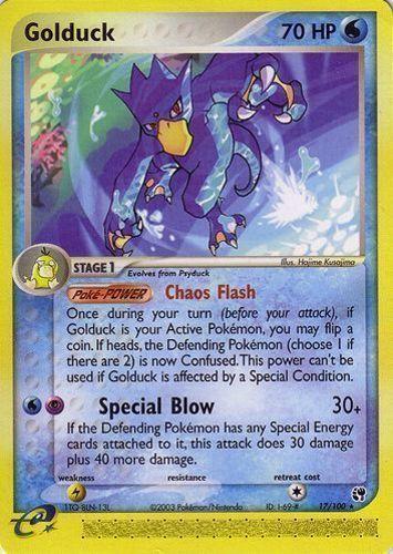Golduck card for EX Sandstorm