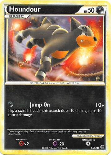 Houndour card for Undaunted