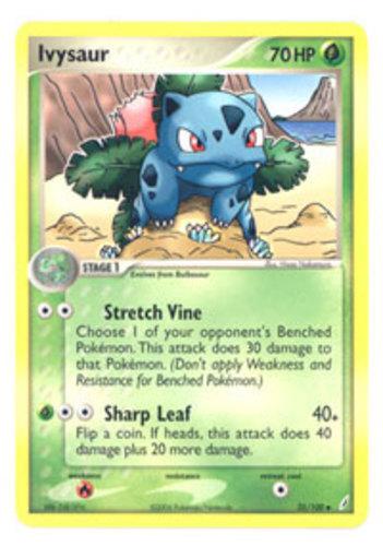 Ivysaur card for EX Crystal Guardians