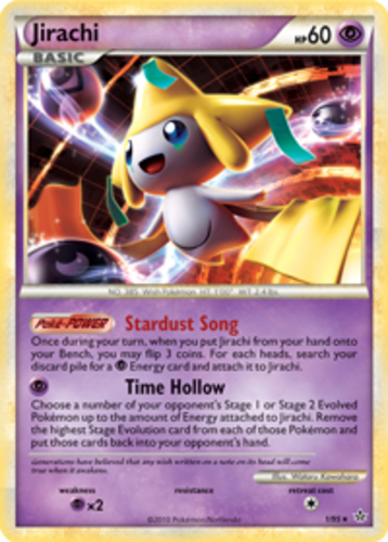 Jirachi card for Unleashed