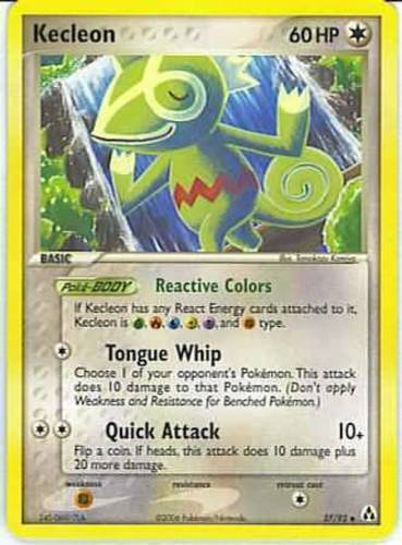 Kecleon card for EX Legend Maker