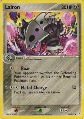 Lairon card for EX Crystal Guardians