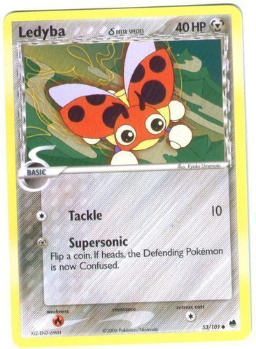 Ledyba card for EX Dragon Frontiers