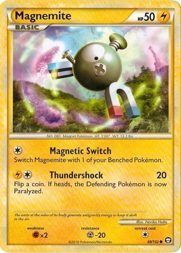 Magnemite card for Triumphant
