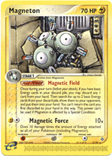 Magneton card for EX Dragon
