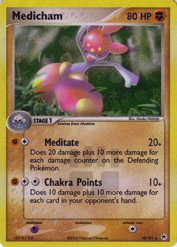 Medicham card for EX Hidden Legends