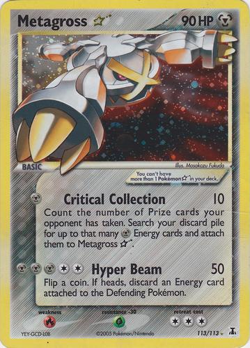 Metagross card for EX Delta Species