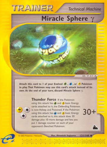 Miracle Sphere ? card for Skyridge