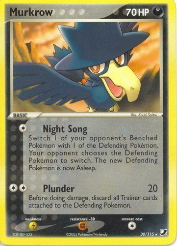 Murkrow card for EX Unseen Forces