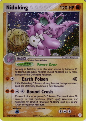 Nidoking card for EX FireRed & LeafGreen
