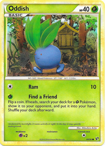 Oddish card for Undaunted