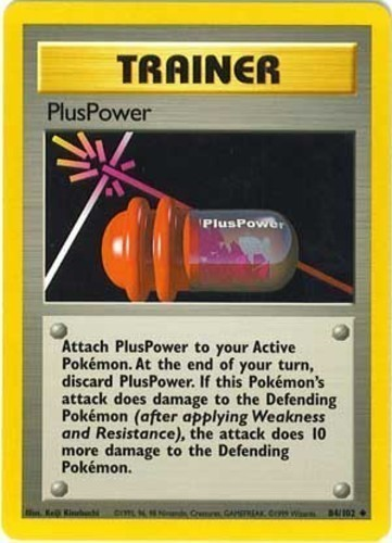 PlusPower card for Unleashed
