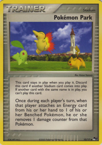 Pokémon Park card for Aquapolis