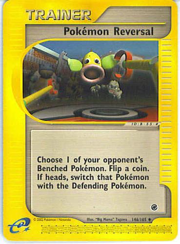 Pokémon Reversal card for EX Ruby & Sapphire