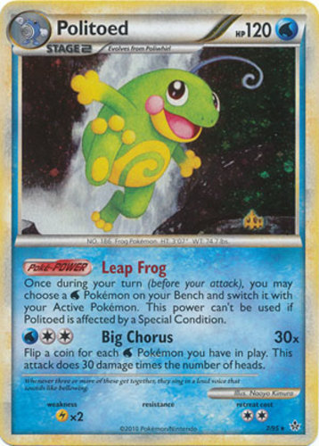 Politoed card for Unleashed