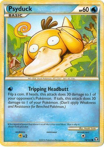 Psyduck card for Triumphant