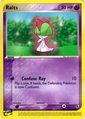 Ralts card for EX Ruby & Sapphire