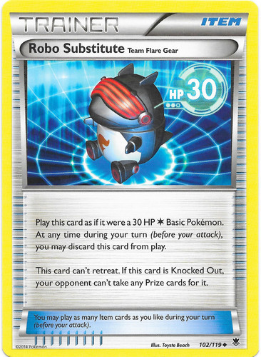 Robo Substitute card for Phantom Forces