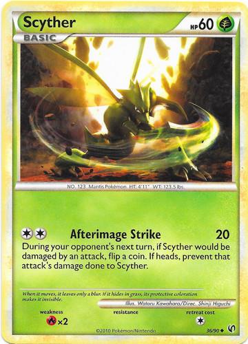 Scyther card for Undaunted