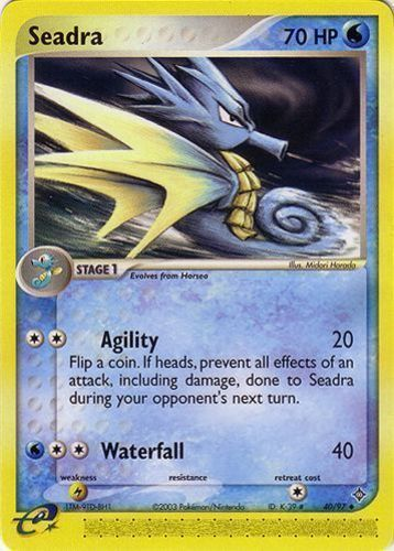 Seadra card for EX Dragon