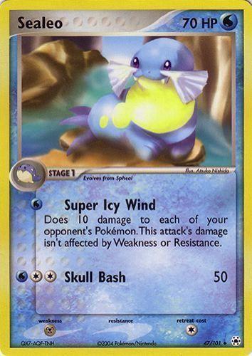Sealeo card for EX Hidden Legends
