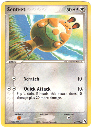 Sentret card for EX Legend Maker