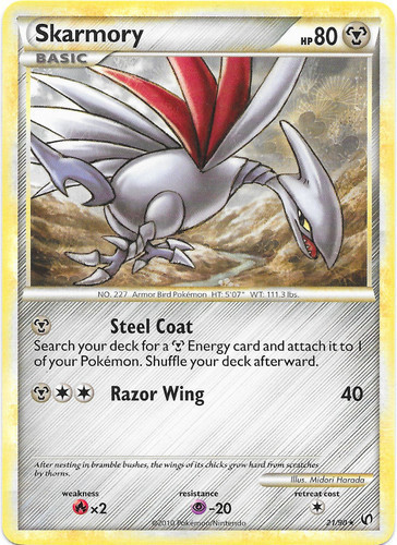 Skarmory card for Undaunted