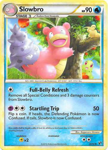 Slowbro card for Undaunted