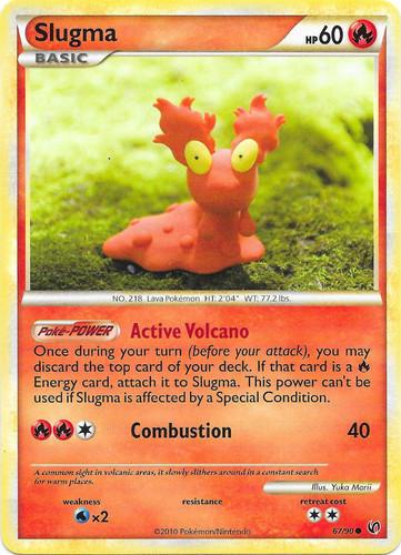 Slugma card for Undaunted